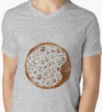 Inside an imprint of Coffee - I love Coffee Men's V-Neck T-Shirt