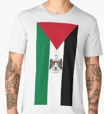 Palestine Flag Men's Premium T-Shirt