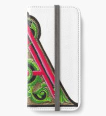 Initial A iPhone Wallet/Case/Skin