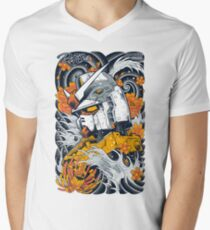 Gundam Men's V-Neck T-Shirt