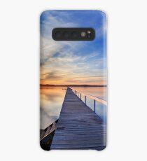 Long Jetty sunset Case/Skin for Samsung Galaxy