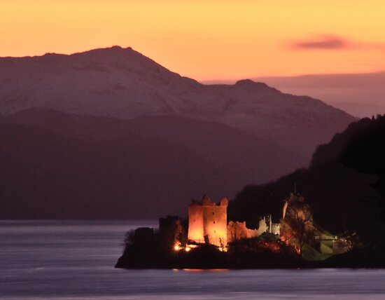 Urquhart Castle by Rob Outram