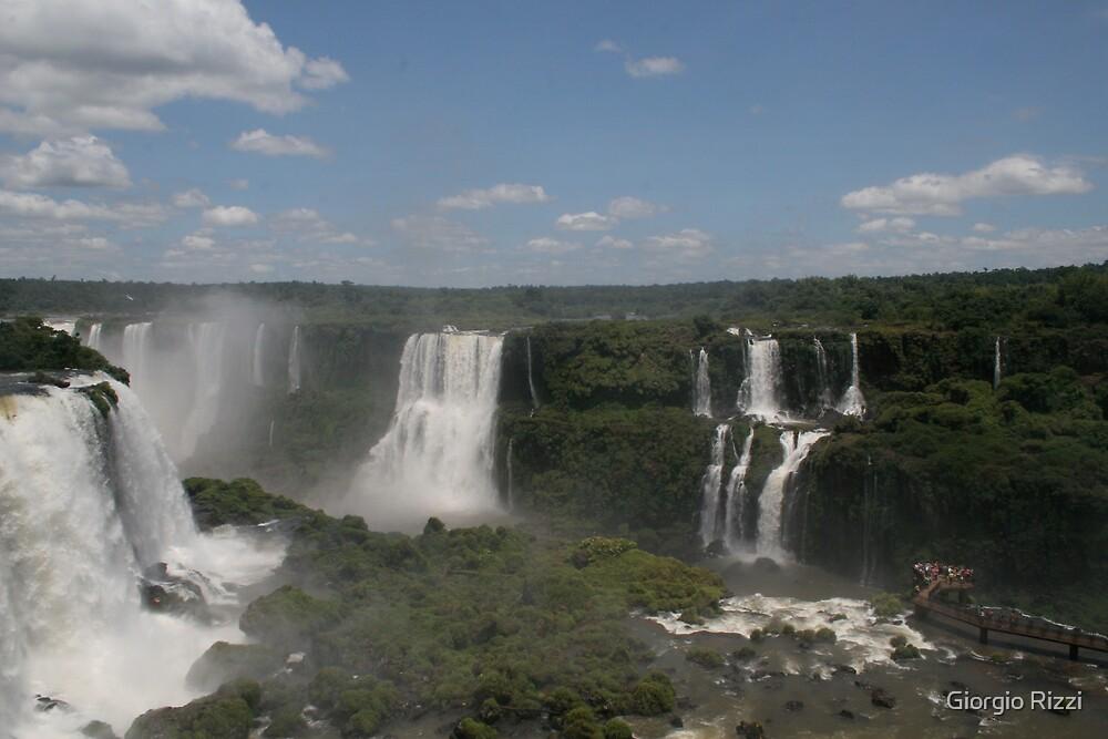 Yguazu Waterfalls by Giorgio Rizzi