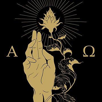 Alpha and Omega color by rottenfantom