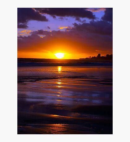 Bilinga Beach Sunrise 1 Photographic Print