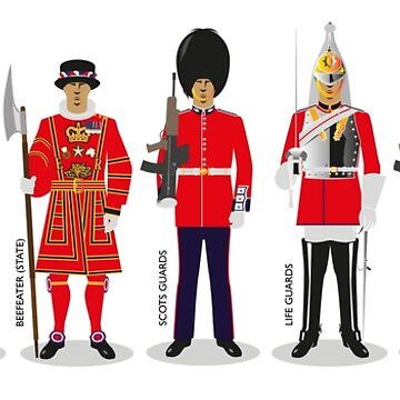 Queens Guards by wiscan