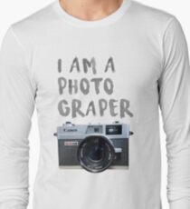 canon, camera Long Sleeve T-Shirt