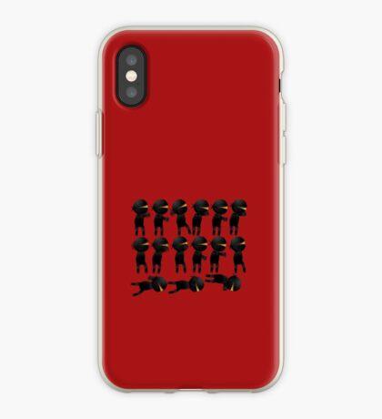 Ninja klutz iPhone Case