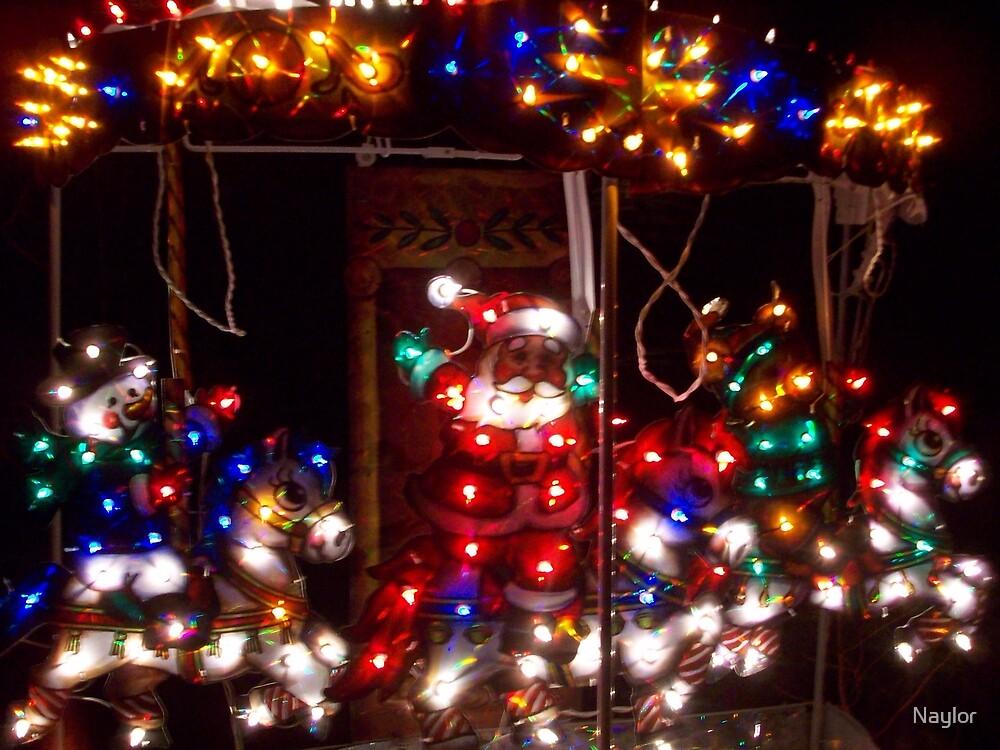 Christmas Carosel by Naylor