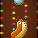 Dancing hot dog by deepaHHV