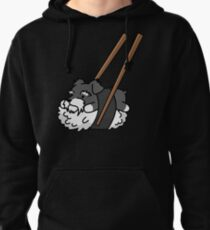 Funny Sushi Schnauzer Pullover Hoodie