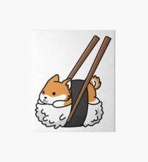 Funny Sushi Shiba Inu Art Board