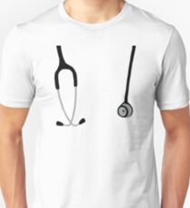 Stéthoscope T-shirt unisexe