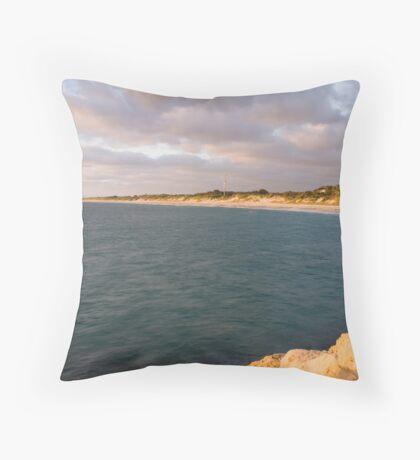 Hillarys Beach As Is Throw Pillow