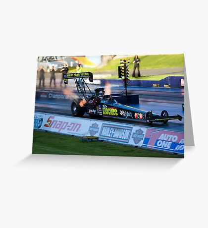 Top Fuel Dragster Greeting Card