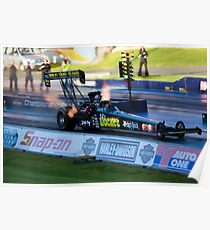 Top Fuel Dragster Poster