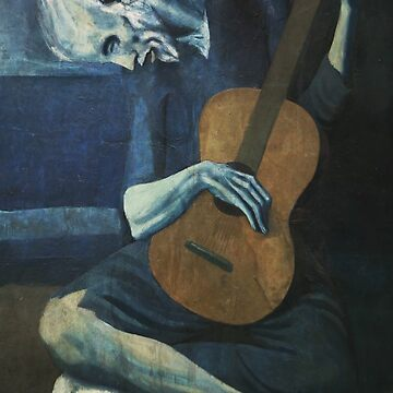 Old Guitarist by Picasso by teachertees