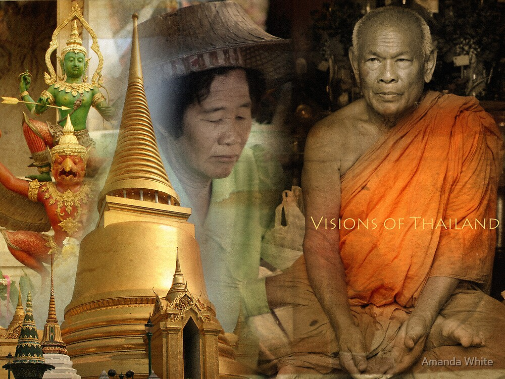Visions of Thailand Series 4 by Amanda White