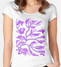 Branching Women's Fitted Scoop T-Shirt