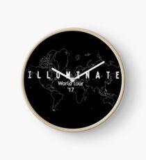 Illuminate world tour '17 Clock
