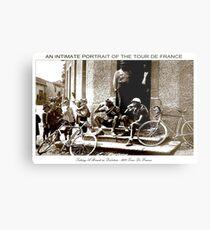 TOUR DE FRANCE; Vintage Taking A Break Print Metal Print