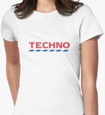 Tesco Techno Women's Fitted T-Shirt
