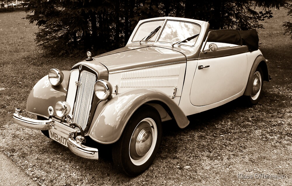 DKW F8 700 Convertible by Klaus Offermann