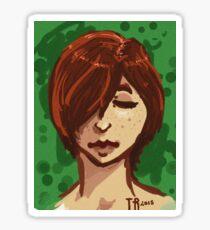 Tranquil Green Sticker