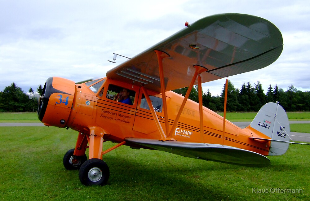 WACO YKS NC 16512 from 1936 by Klaus Offermann