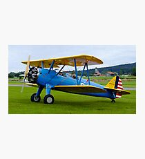 "Boeing Stearman ""346"" N55097 from 1941 Photographic Print"