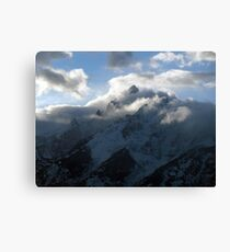 Grand Teton Clearing Storm Canvas Print