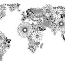 Floral Map by franzi