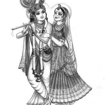 Radha and Krishna by AlexBilbija