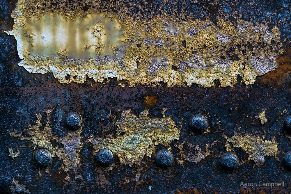 Corrosive Rust and Peel, 2015.10.07 by Aaron Campbell