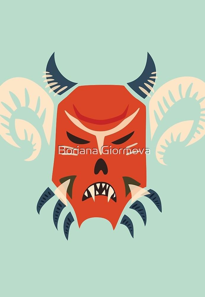 Kuker Evil Monster Mask by Boriana Giormova