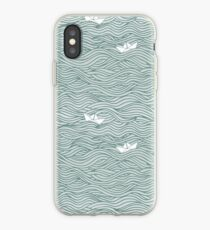 Little Paperboats iPhone Case