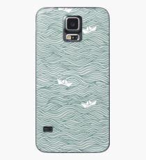 Kleine Papierboote Hülle & Skin für Samsung Galaxy