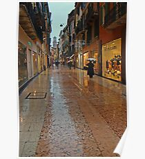 Verona Marble Streets Poster