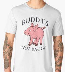 Buddies NOT BACON! Men's Premium T-Shirt