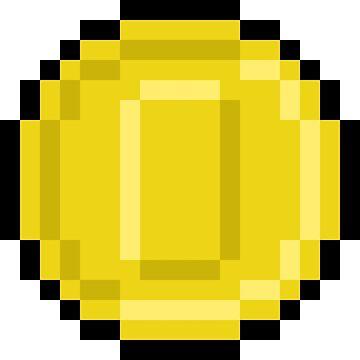 Coin Pixel Art by brick86