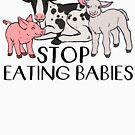 « Arrêtez de manger des bébés » par comfykindness