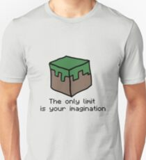 Minecraft Imagination Quote T-Shirt