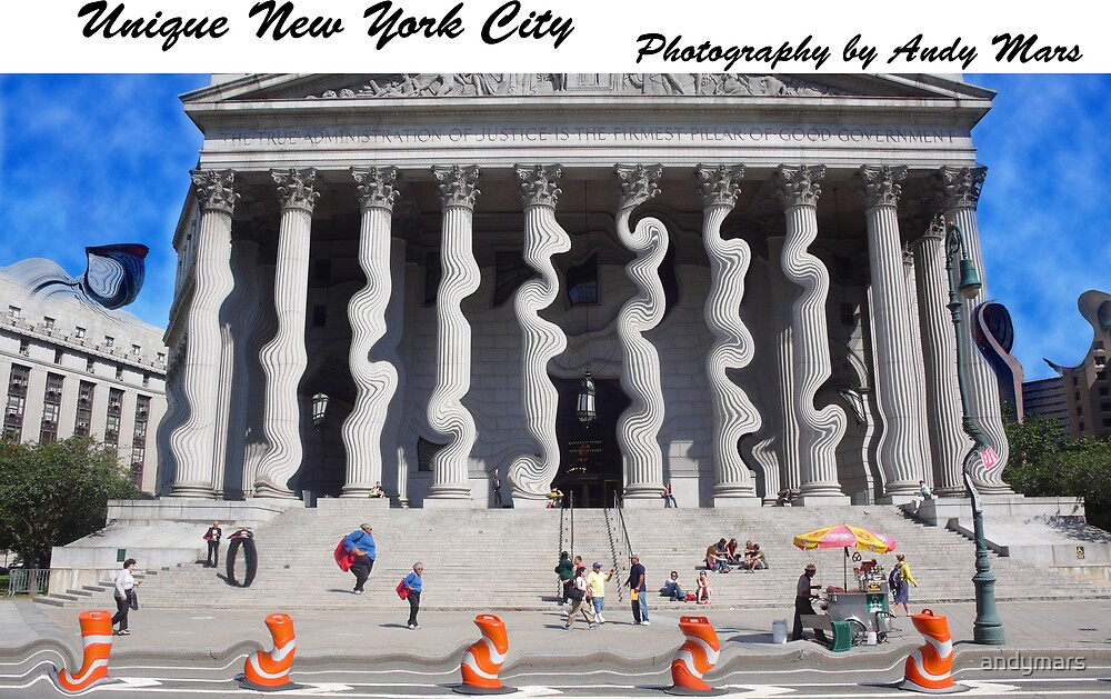 calendar cover - court house on a hot day by andymars