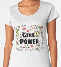 Girl Power. Love & Life Women's Premium T-Shirt