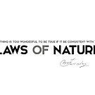 laws of nature - michael faraday by razvandrc