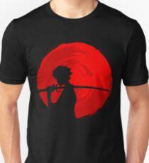 Samurai Sunset Slim Fit T-Shirt