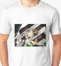 Tamara de Lempicka Girl in a Green Dress & Bette Davis Unisex T-Shirt