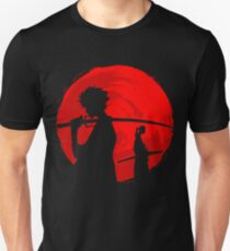 Samurai sunset Unisex T-Shirt