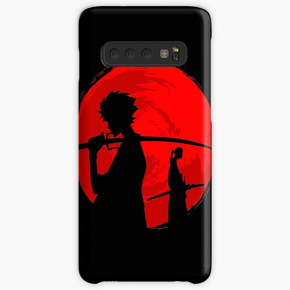 Samurai sunset Funda y vinilo para Samsung Galaxy