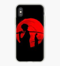 Samurai-Sonnenuntergang iPhone-Hülle & Cover